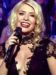 Willoughby, Holly-willoughby, Holly willoughby, Holli, Blonde babe boobs, Celebritis with