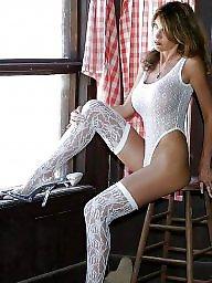 White stockings, White stocking amateurs, White stocking, White angel, Stockings white, Milf white stockings