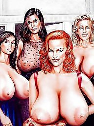 Big tits cartoon, Drawn, Cartoons, Big tits, Cartoon, Big tit