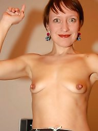 Small tits, Saggy tits, Small, Saggy, Mature tits