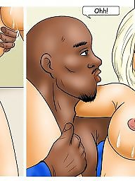 Interracial cartoons, Interracial cartoon