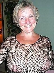 Grannies, Granny, Mature tits, Granny tits