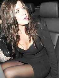 Upskirt stockings, Heels, Upskirt