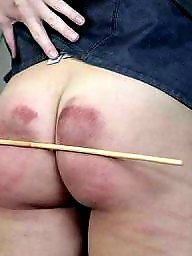 Bdsm asses, Bdsm ass, B & w caning, Canings, Caned, Cane