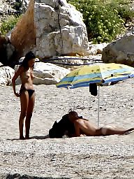 Greek, Beach voyeur, Nudist