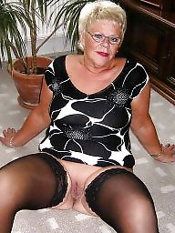 Granny stockings, Granny stocking, Mature stocking, Mature stockings, Granny, Grannys