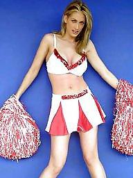 Posing, Cheerleader, Cheerleaders