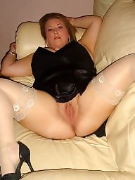 Stockings, Amateur stockings, Flash