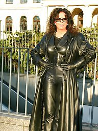 Mature leather, Mature pvc, Pvc, Leather, Leather milf, Leather mature