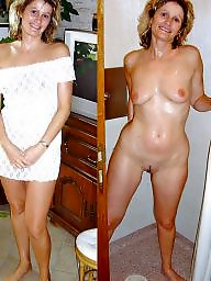 dressed undressed Milf and