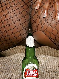 Ebony stockings, Ebony ass, Fishnet, Exotic