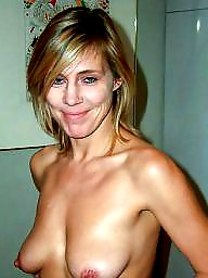 Blond mature, Linda, Blonde milf, Blonde mature
