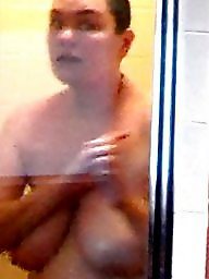 Voyeur, Hidden cam, Mature shower