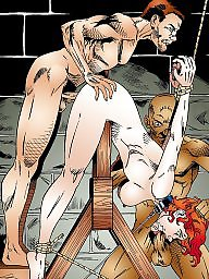 Bdsm cartoons, Cartoon bdsm, Bdsm art, Art, Pain, Painful