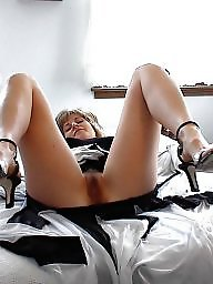Mature spreading, Hairy spreading, Hairy legs, Leg, Hairy, Mature spread