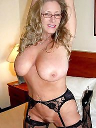 Cougars, Stocking milf, Cougar, Mature stockings