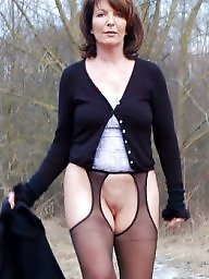 pantyhose Mature amateur wife