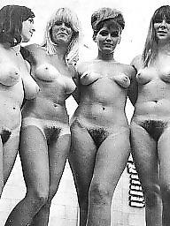 Vintage hairy, Vintage amateur, Lady, Vintage, Lady b
