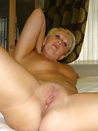Mature hairy, Shaved