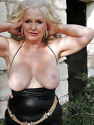granny blonde Amateur mature
