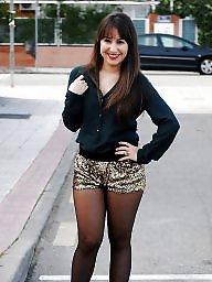 Leggings, Upskirt stockings, Upskirt, Leg