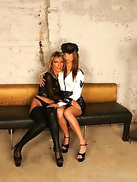 Mature strapon, Mature mistress, Mature and young, Lesbian strapon, Lesbian bdsm, Young fuck
