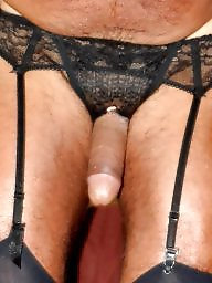 Stockings garterbelt, Garterbelts, Garterbelt, Bisexuality, Bisexual amateur, Bisexual
