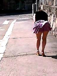 Underwear, Upskirt public
