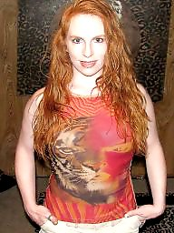 Lady, Red head