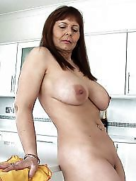 Housewife, Naked, Mature blonde