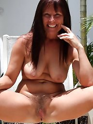 Hairy mature, Shaved, Hairy