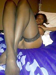 Stockings ebony, Ebony stocking, Black stockings, Stocking tops, White stockings, Ebony amateur