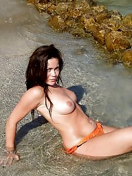 Beach boobs, Beach, British