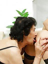 Mature lesbians, Granny, Old, Granny fuck