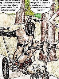 Bdsm cartoon, Art