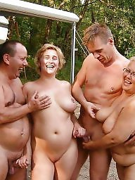 mature Amateur nudists couples