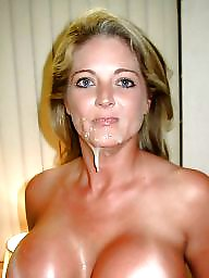 Amateur facial, Milf facial, Facial, Dirty, Bitch