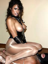 Femdom, Torture, Face sitting, Pantyhose, Milking, Face