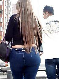 Jeans, Mature ass