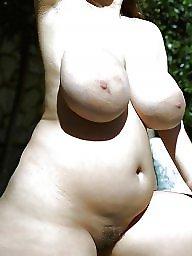 Hairy big tits, Big tits milf