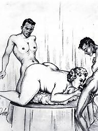 X erotic, X drawings, Vintage drawings, Vintage blowjobs, Vintage blowjob, Erotic vintage