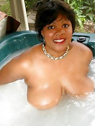 Mature ebony, Mature blacks, Ebony mature, Big mature, Hot tub, Mature big boobs