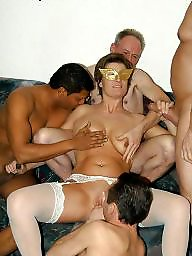 Mature gang-bang, Mature gang bang, Gang bang, Ganges, Bangs, Banged