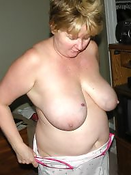 Mature tits, Saggy mature, Saggy