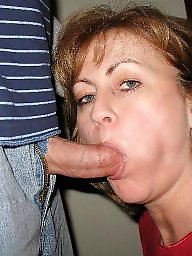 Mature blowjob, Moms, Mature moms, Mature facials, Facials, Mom blowjob