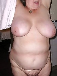 Chubby mature, Chubby, Housewife, Kitchen