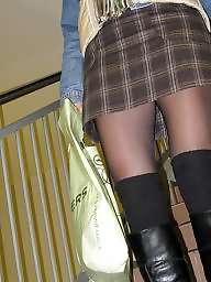 Public stockings, Nylons
