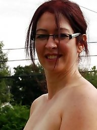 Glasses, Mature glasses, Mature facial, Mature facials, Mature tits, Facial