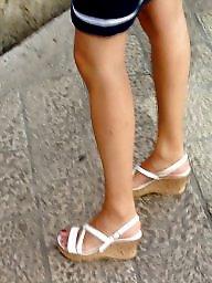 Voyeur summers, Voyeur heels, Wedges, Wedge heels, Summers, Summer voyeur