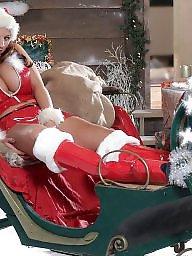 Curvy, Natural tits, Christmas, Curvy bbw, Big tits, Bbw big tits